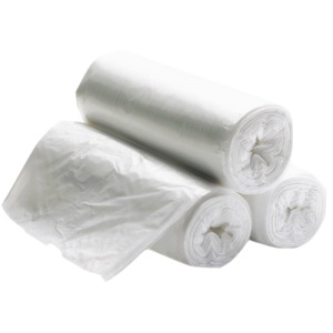 24x24 Natural Trash Can Liners