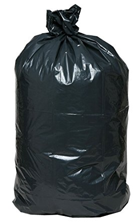 23x10x39 Trash Can Liners Blk.Hvy.