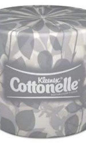 Kleenex Cottonelle 17713 White 2-Ply Bathroom Tissue