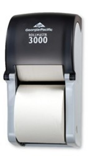 Georgic Pacific Rollmaster 3000 Dispenser for 19020 Bathroom Tissue
